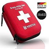 Winston Protection ® Erste Hilfe Set - Erste Hilfe im umfangreichen Set mit Pinzette und...
