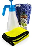 AutoFullCar - Kit Foamer Universal + Champú + Manopla + Toalla Microfibra - Kit Generador Alta Espuma Snow Foam sin Necesidad de enchufes + Accesorios Car Detailing