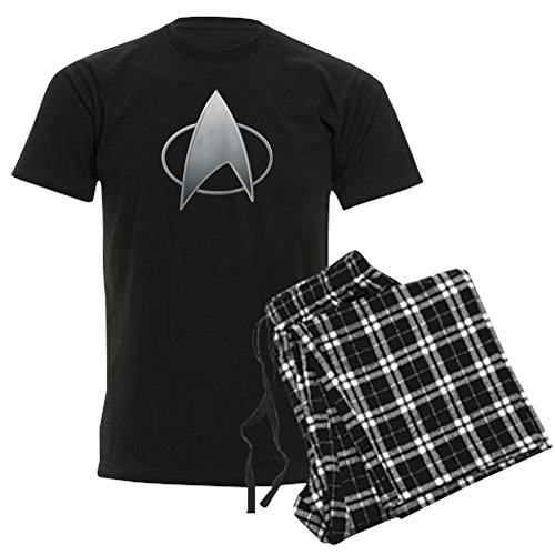 CafePress Star Trek TNG Unisex Novelty Cotton Pajama Set, Comfortable PJ Sleepwear