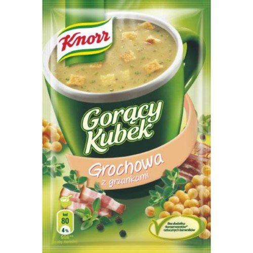 Knorr Heiße Tasse Erbsensuppe mit Croutons 21g