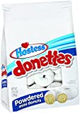 SWEET RINGS - Delicious white cake dusted with powdered sugar INCREDIBLY TASTY - An on-the-go snack for morning, day or whenever your sweet tooth calls HAVE A TREAT FOR BREAKFAST - Powdered Sugar, Chocolate Frosted, Glazed, Double Chocolate, Crunch, ...