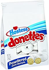 SWEET RINGS - Delicious white cake dusted with powdered sugar INCREDIBLY TASTY - An on-the-go snack for morning, day or whenever your sweet tooth calls TRANS FAT FREE - 0g of trans fat MADE BY HOSTESS - Creator of America's favorite baked goods HAVE ...