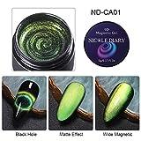 9D UV Cat Eye Gel Nagellack Glittery Chameleon Soak Off Magnetische Nail Art UV Gel 5ml