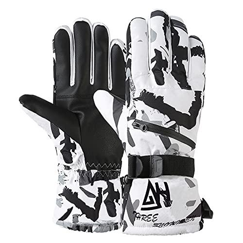 Durio Ski Gloves Men Women Waterproof Snow Gloves...