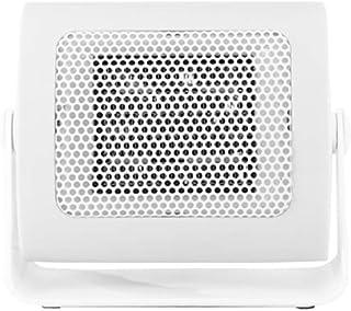 SADDPA Mini Ventilador Eléctrico, Calefactor bajo Consumo, Portátil Ventilador Calefactor PTC Cerámica, 500W, Protección contra Vuelcos, para Bebé, Personal, Familia