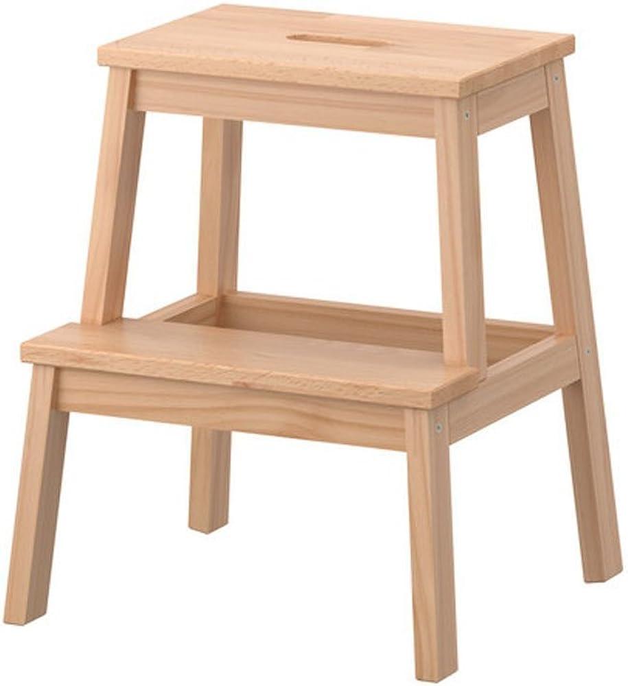 Ikea bekvam, sgabello in legno di faggio massiccio 601.788.87