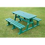 Recycled Plastic Picnic Bench Sturdy