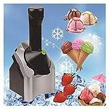 GFITNHSKI Heladera para el hogar, Máquina para Hacer postres congelados,Máquina para Servir Blandos de Frutas saludables, para postres de Frutas congeladas Procesador de Alimentos portátil para