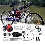 Ambienceo 49 cc 4 del Ciclo de pedal Gasolina Gas motor Kit Motor bicicleta Plug-It para herramientas para Motorizado bicicleta