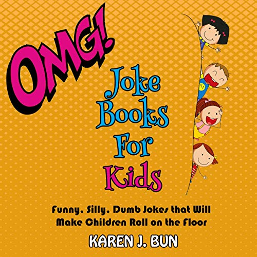 Karen's OMG Joke Books for Kids cover art