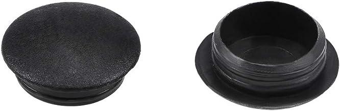5 Piezas Pl/ástico Broche de presi/ón en Tipo Cierre Tapones De Los Agujeros 25mm x 29mm x 11mm