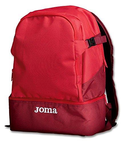JOMA MOCHILAS ESTADIO III UNISEX 400234 - S, ROJO (600)