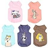 Handfly Ropa para Perros Chaleco para Perros Ropa para Cachorros Disfraces de Verano Traje pequeño Camisetas de Perro Ropa de Verano para Perros Cachorros Camiseta para Perros
