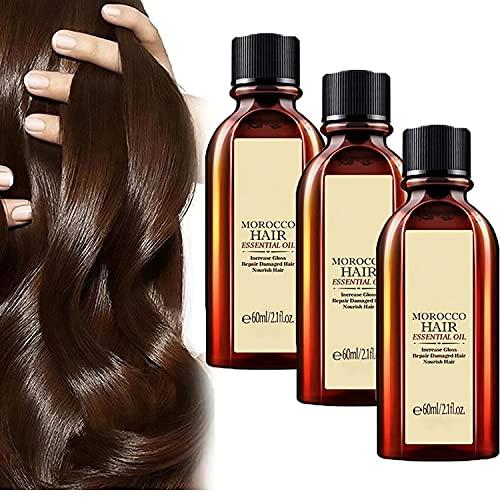 Multi-functional Hair Essential Oil, Pure Argan Oil for Hair, Hair Moisturizer for Dry Hair Damaged, Multi-functional Hair Care Products
