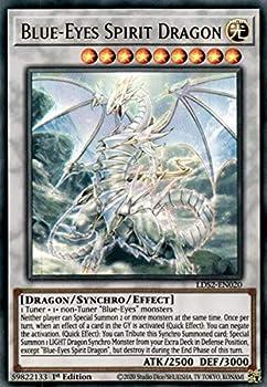Blue-Eyes Spirit Dragon - LDS2-EN020 - Ultra Rare - 1st Edition