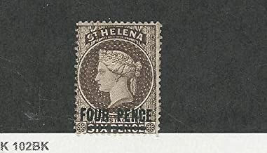 St. Helena, Postage Stamp, 38a Mint Hinged, 1890