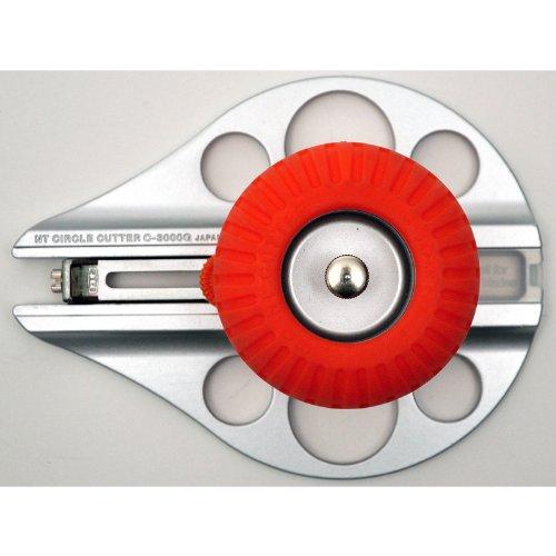 NT Cutter Aluminum Die-Cast Body Heavy-Duty Circle Cutter, 1-3/16 Inches 10-1/4 Inches Diameter, 1 Cutter (C-3000GP) Photo #6