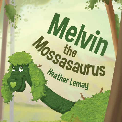 Melvin the Mossasaurus cover art