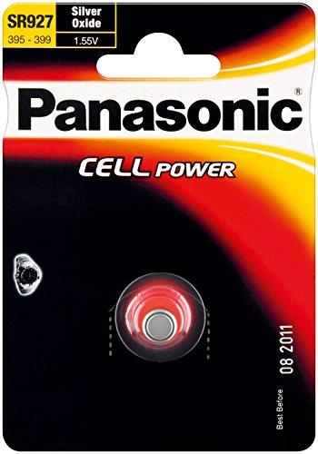 Panasonic 5 Stück Knopfzellen Cell Power SR57 (SR927 EL) 1,55 V