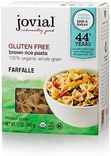 Jovial, Pasta Farfalle Brown Rice Organic, 12 Ounce
