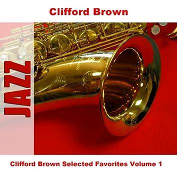 Clifford Brown Selected Favorites Volume 1