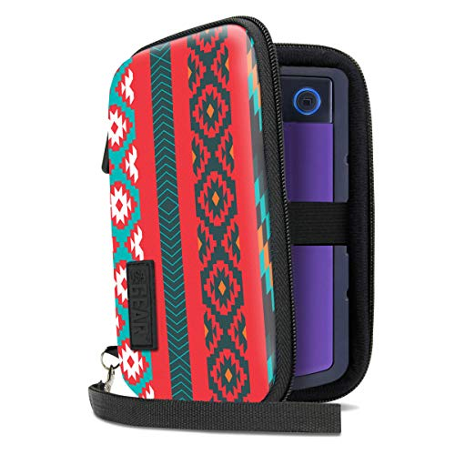 USA Gear Portable Solid State External Hard Drive Case - Compatible with WD My Passport Go, Seagate Portable, Toshiba Canvio, Samsung T5 SSD, Silicon Power Rugged Armor and More - Southwest