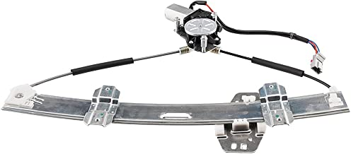 Front Left Driver Side Power Window Lift Regulator with Motor Assembly Replacement fit for Honda Civic 1996 1997 1998 1999 2000