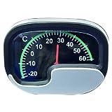Carpoint 1123401 Thermometer, silber/schwarz