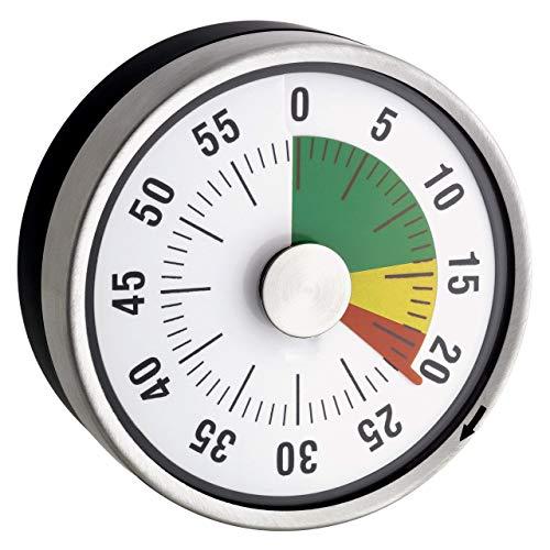 TimeTex Compact Zeitdauer-Uhr mit Magnet und Ampelscheibe
