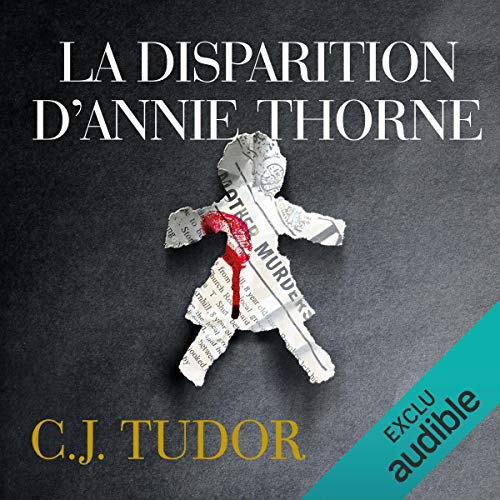 La disparition d'Annie Thorne audiobook cover art