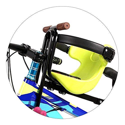 CloudWhisper 1 x Mountainbike-Kindersitz, tragbarer Babysitz, Fahrradsitz für Kinder im Alter von 3–5 Jahren (grün).