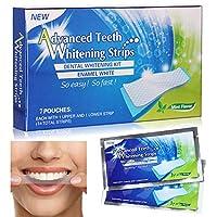COSYOO 14PCS歯のホワイトニングストリッププロフェッショナルな歯のホワイトニングストリップ歯のホワイトニングキット