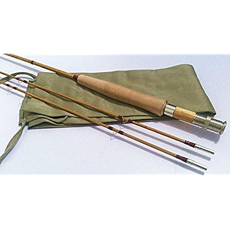 Bamboo Fly Rod 70 for #4 Line Wt,2 Piece with 2 Tips.