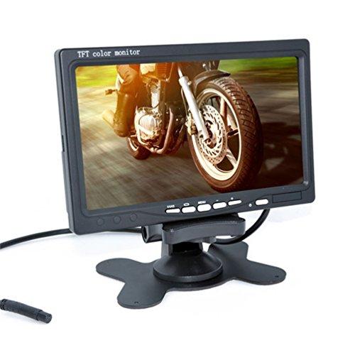 『Auto Wayfeng® 7インチモニター+ バックカメラ12V/24V兼用 バックカメラセット+一体型20Mケーブル トラック、バス、重機等対応』の5枚目の画像