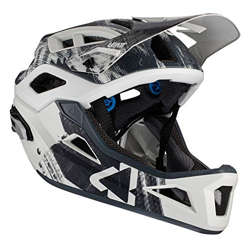 Leatt Casque MTB 3.0 Enduro Casco de Bici, Unisex Adulto, Gris Acero, Large