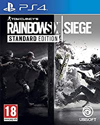 Tom Clancy's Rainbow Six Siege for PS4 Italian Box , English Playable Pegi 18