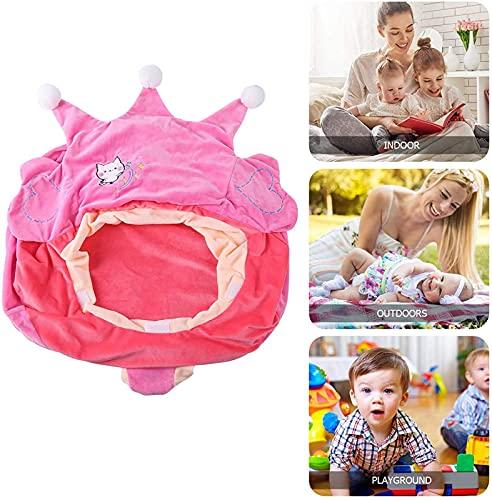 SillóN Infantil Espuma Silla de sofá for niños Silla de juguete:silla de sentado for bebés suave y cómoda con respaldo ergonómico-for casas,instituciones de entrenamiento,parques infantiles,etc.Blue