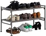 FANJIANI Bastidores de Zapatos Multilayer Corrosión y prevención de óxido Pasión de Hierro Forjado Multicapa de múltiples Capas Altura Extensible Panel de Abeja 67 * 30 * 40 cm