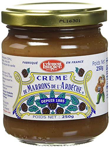 Clément Faugier - Crème de Marrons de l'Ardèche - Pot 250g - Lot de 12