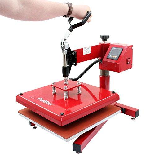 PixMax 38cm x 38cm Swing-Hitzepressmaschine - 6