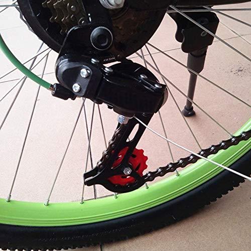 Wolfgo Umwerfer-Mountainbike Hinterrad Kettenschaltung Anzahl Gänge for 21 24 Speed Bikes Ersatz Zubehör