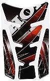 Puig 4785P Adesivi Protezione Serbatoio Modello Wings Silver