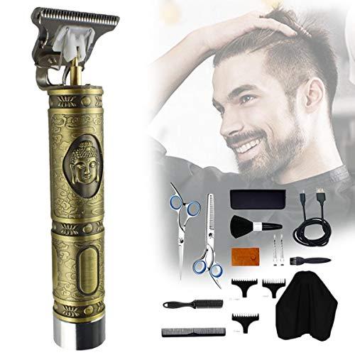 Elektrische tondeuse voor kappers | Professionele draadloze tondeuse voor kappers Baardtrimmer | Hair styling tool voor mannen CHC-703