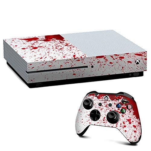 IT'S A SKIN Xbox One S Console & Controller Decal Vinyl Wrap | Blood Splatter Dexter