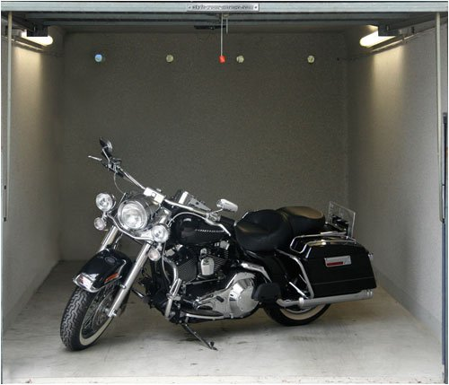 style-your-garage.com Garagentor Fotoplane Road King 245 cm x 210 cm