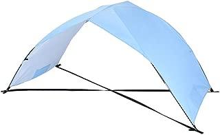 Leadmall Beach Sunshade   Lightweight Tarpaulin Outdoor Camping Tent   Easy Setup Windproof Waterproof Portable Awning