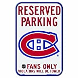 Wincraft NHL Montreal Canadiens 11-by-17 Zoll Locker Room Schild
