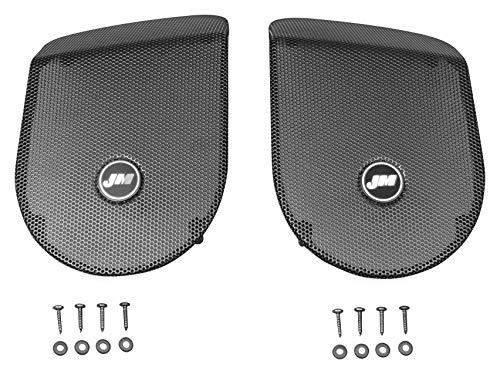 J&M Audio Replacement Saddlebag Speaker Grilles 2014 and Newer Harley Touring models - HGRL-SD14