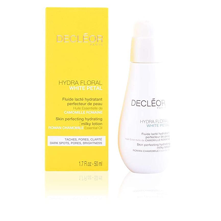 微妙堂々たるハプニングデクレオール Hydra Floral White Petal Roman Chamomile Skin Perfecting Hydrating Milky Lotion 50ml/1.7oz並行輸入品
