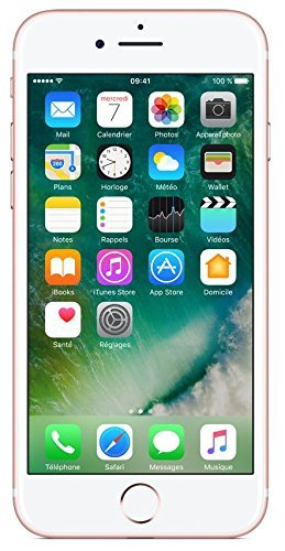 Apple iPhone 7 128GB - Oro Rosa - Desbloqueado (Reacondicionado)